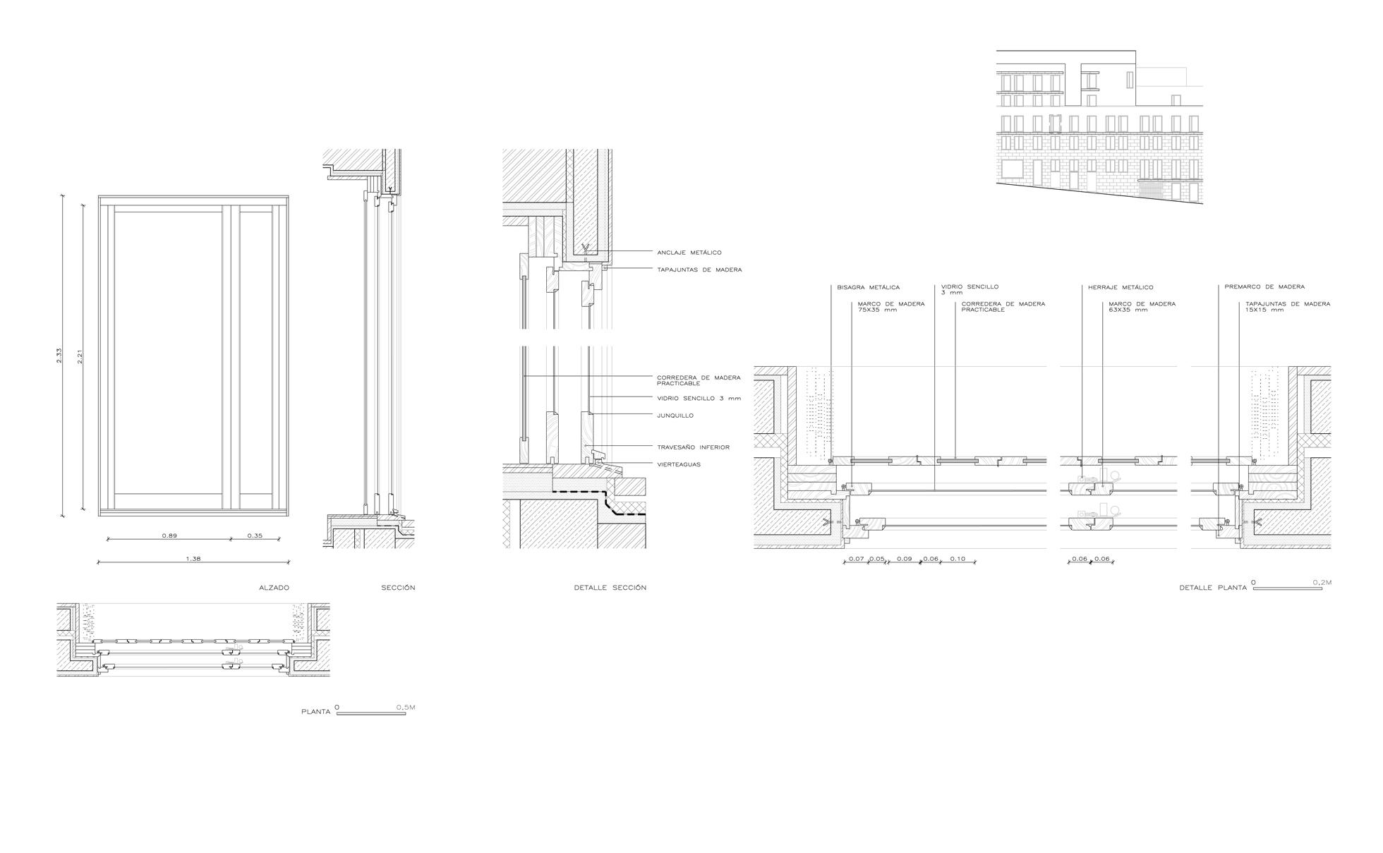 Fontdarquitectura - Detalle carpinteria aluminio ...