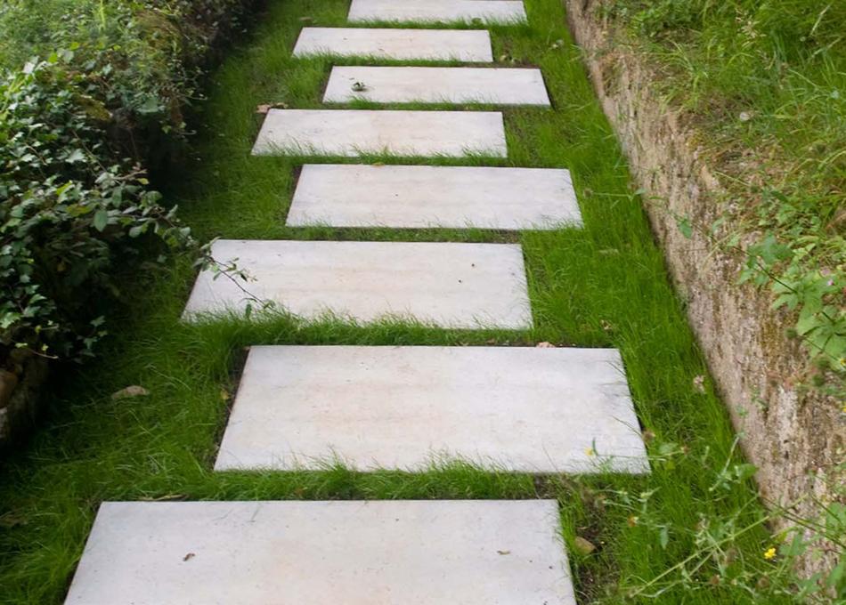 Paviment placa gespa