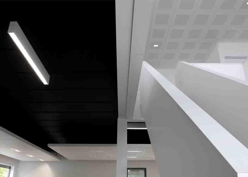 Fals sostre acer galvanitzat Vektron Clip-in