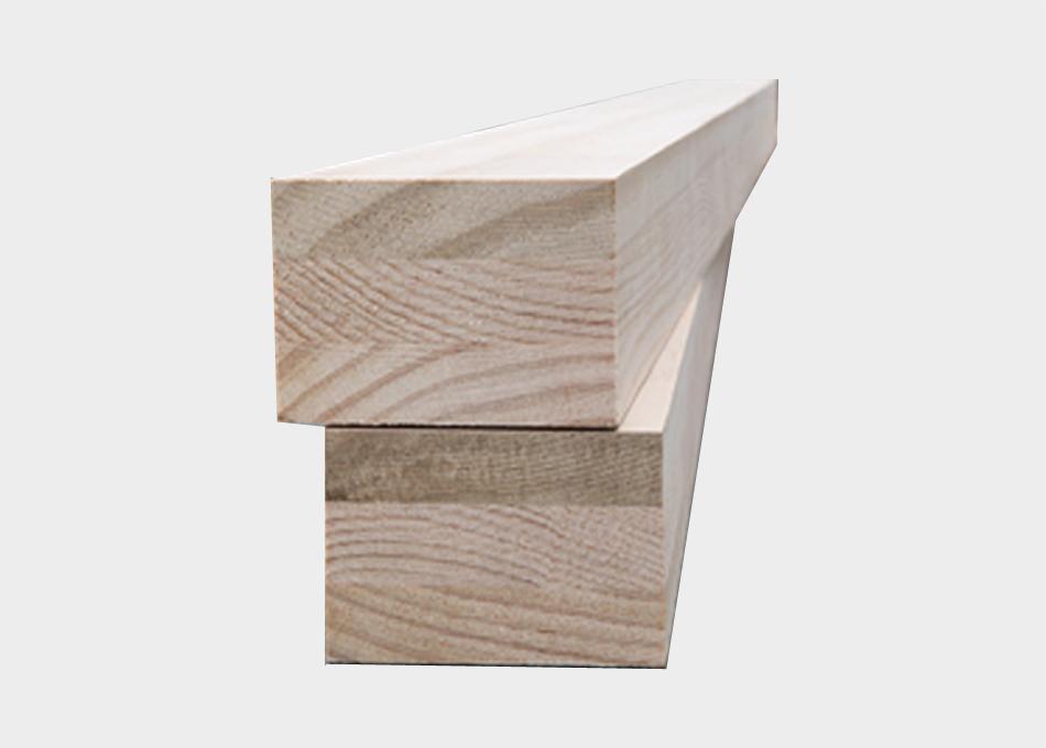 Biga fusta laminada