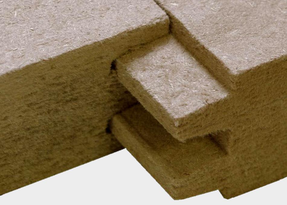 Aïllament fibra fusta