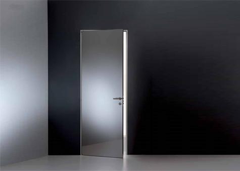 Porta practicable Planus Cinque Super Mirror