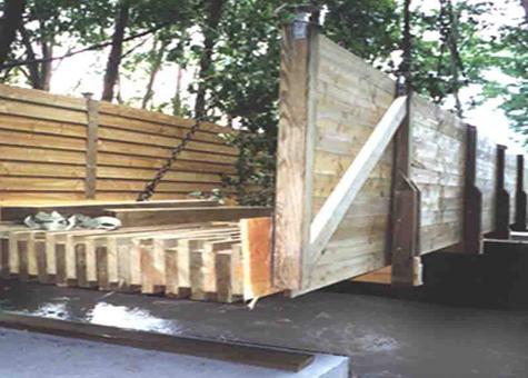 Prellosa de fusta per a forjat mixt Lignadal 220