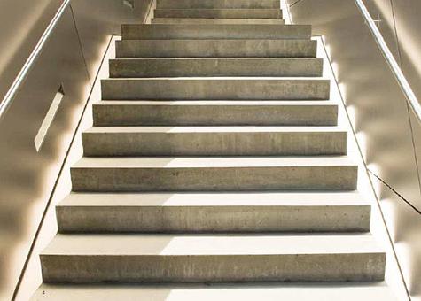 Fontdarquitectura - Escalera prefabricada de hormigon ...