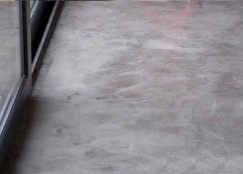 Paviment de formigó polit MM Béton Ciré