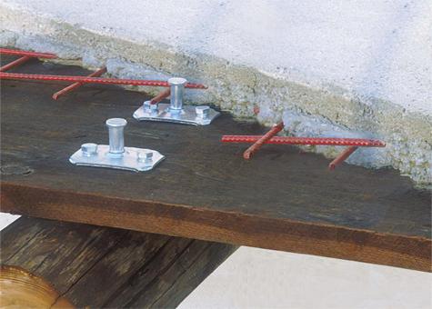 Connector Maxi per forjats fusta-formigó