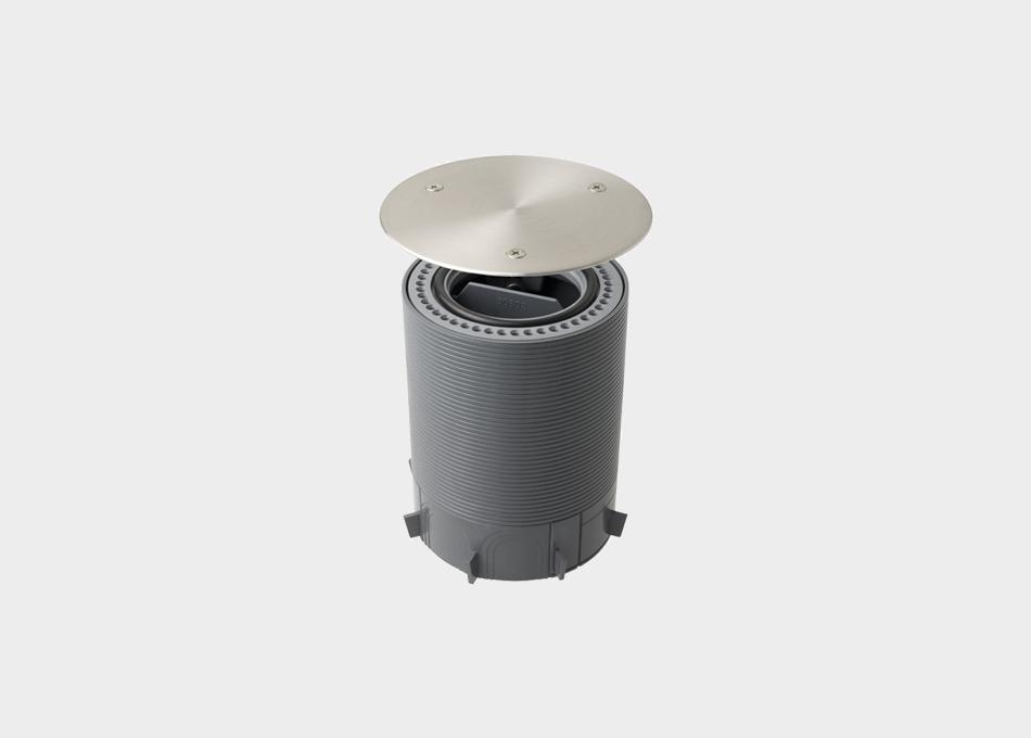 Caixa de connexions per a paviment Unex 52802