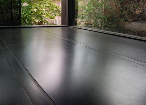 Paviment de planxa d'acer