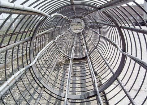 Sonda de captació per cimentació termoactiva