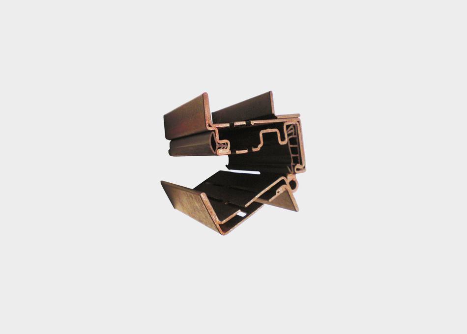 Tancament oscil•lobatent TABS acero corten