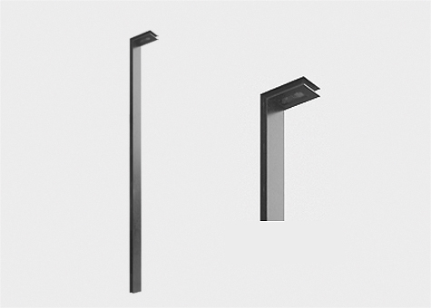 Columna rectangular bàcul