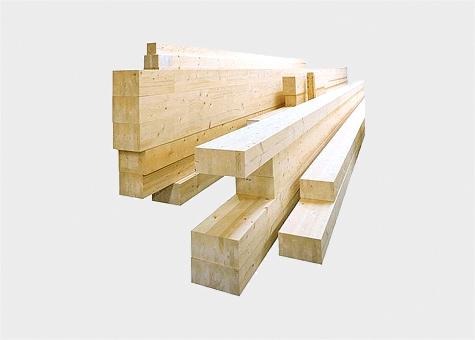 Biga fusta laminada encolada