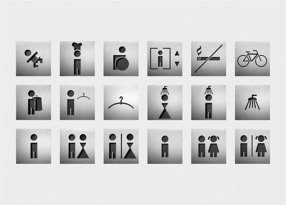 Senyalitació pictogrames P WC*
