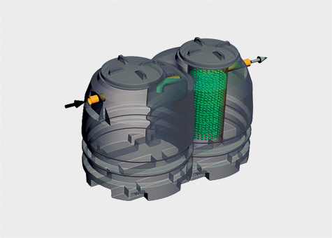 Depuradora Compacte Fosa Filtro CFF4