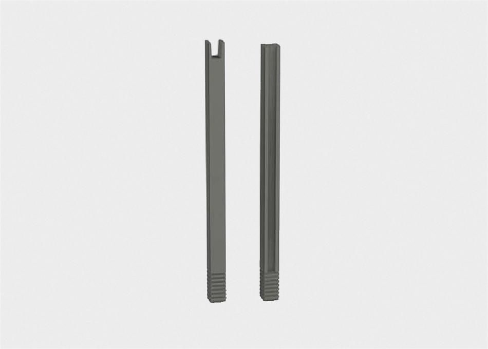 Pilar prefabricat estándard