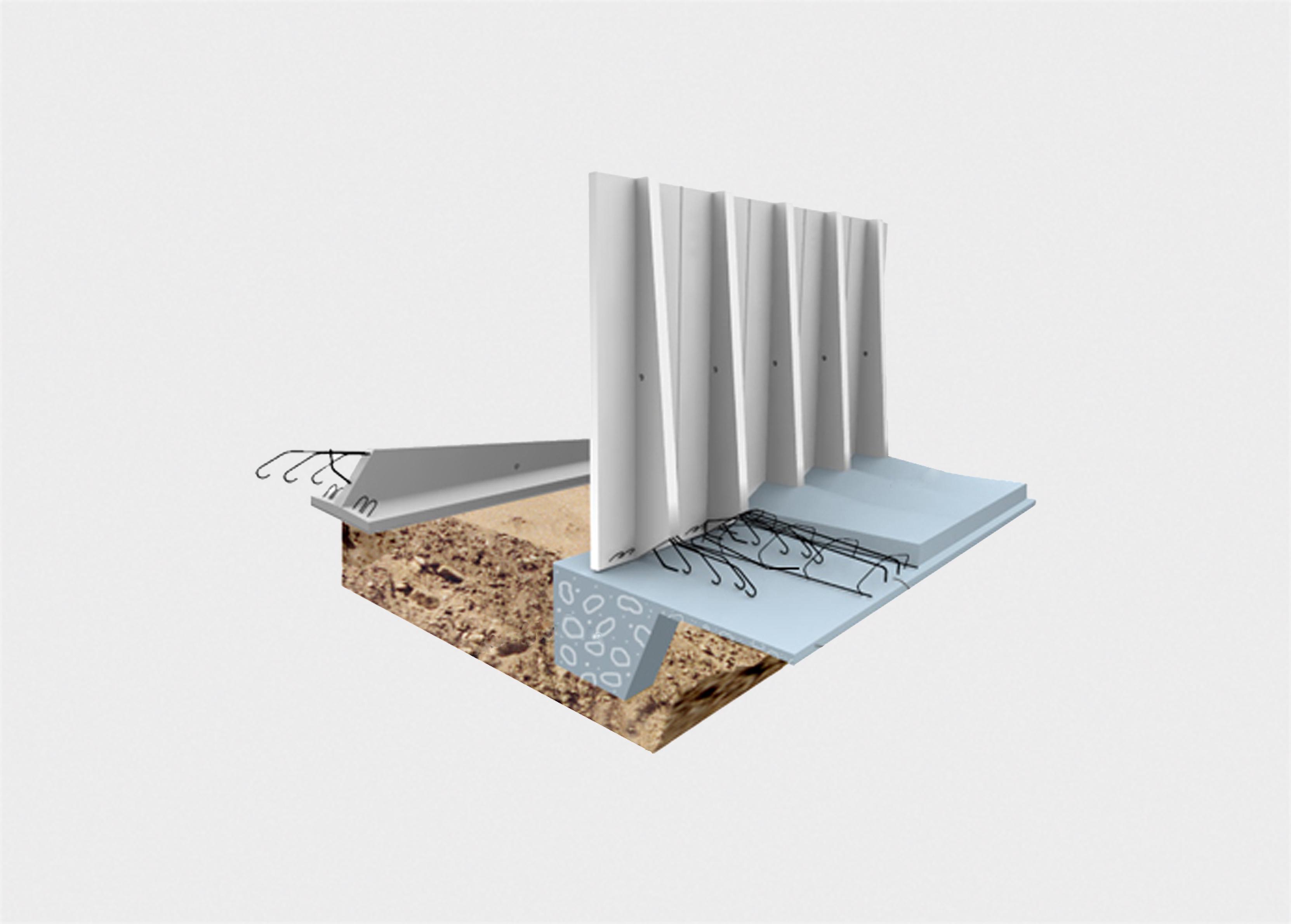 Mur prefabricat panells