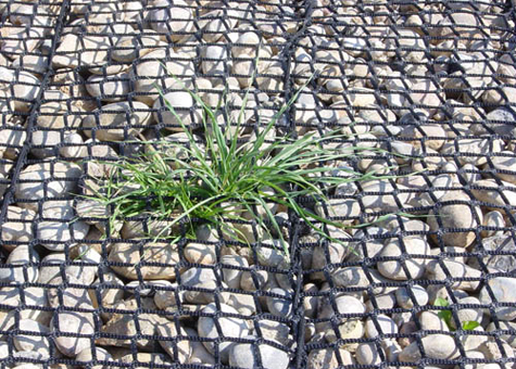 Mur gabió flexible vegetable Rock Roll